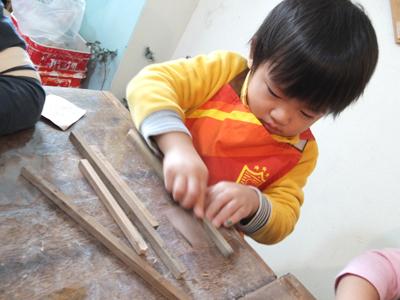 ちびっこ木工教室