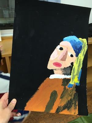 有名画家の模写