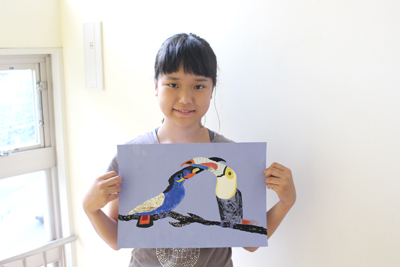絵本画家の絵の模写